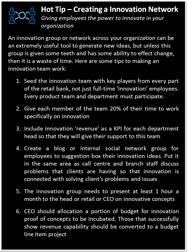 Creating an Innovation Network